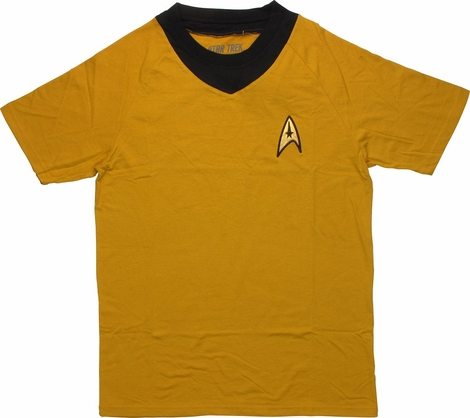 Star Trek TOS Command Deluxe T Shirt