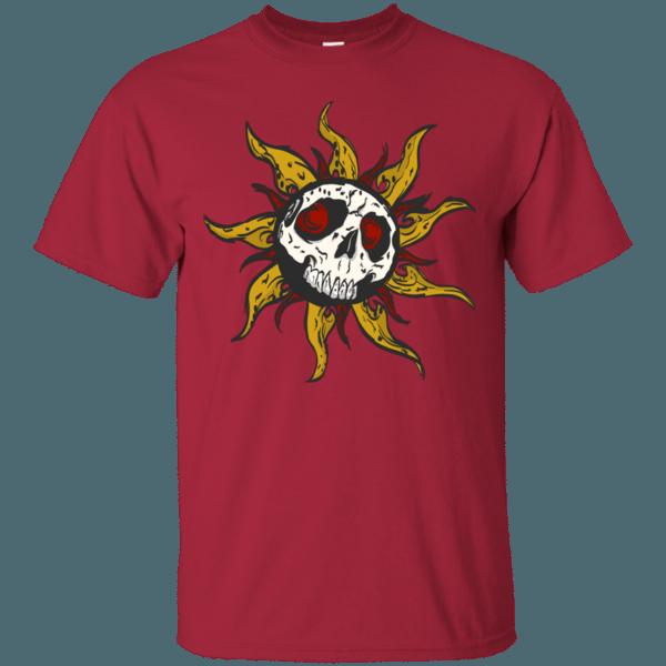 Sun Skull Men's T-Shirt