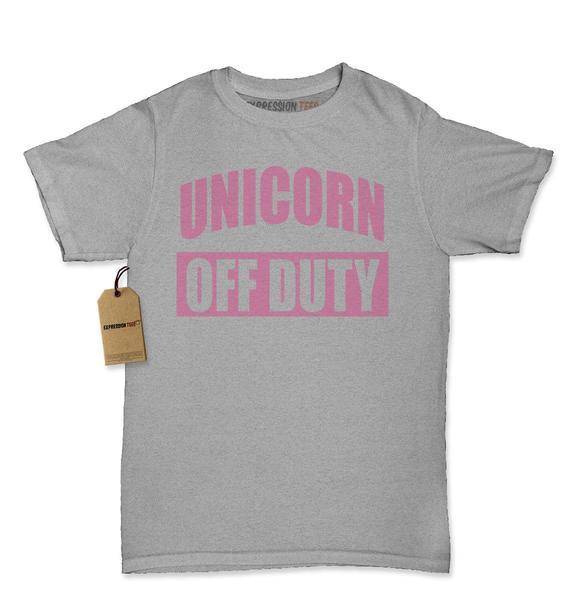Unicorn Off Duty Womens T-shirt