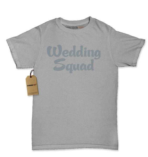 Wedding Squad Bridal Party Womens T-shirt