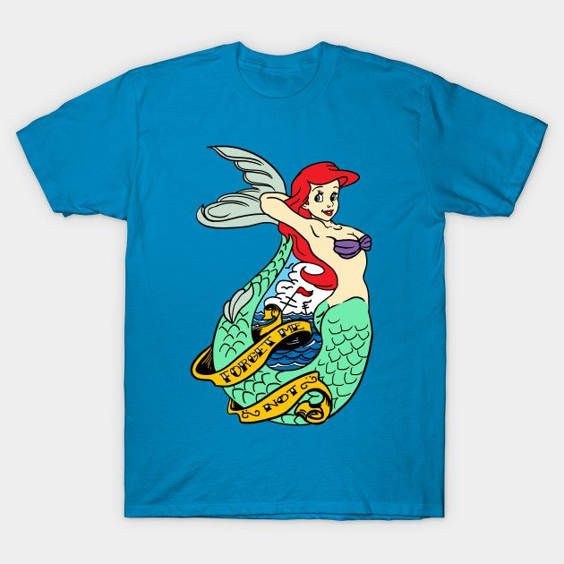 Ariel Old Style Tattoo T-Shirt