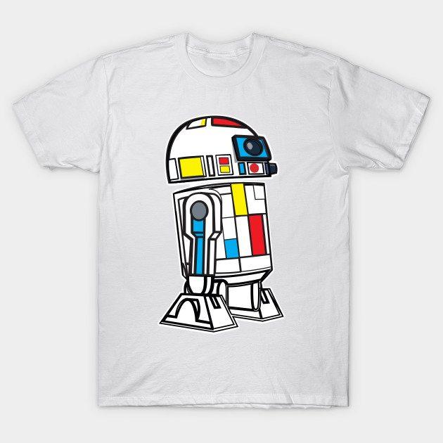 ART2D2 MONDRIAN VARIANT T-Shirt