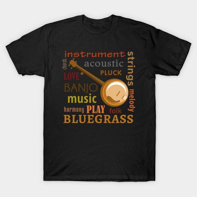 Banjo Words T-Shirt