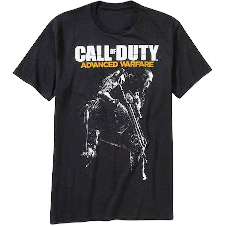 Call of Duty Advanced Warfare Logo & Gunman Men's Black