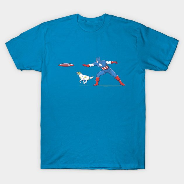 Captain America: Dog Lover T-Shirt