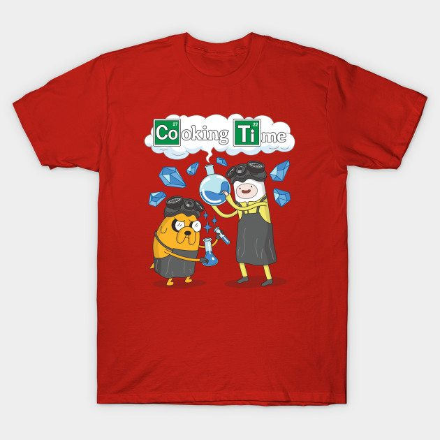Cooking Time With Adventure Time Parody T-Shirt