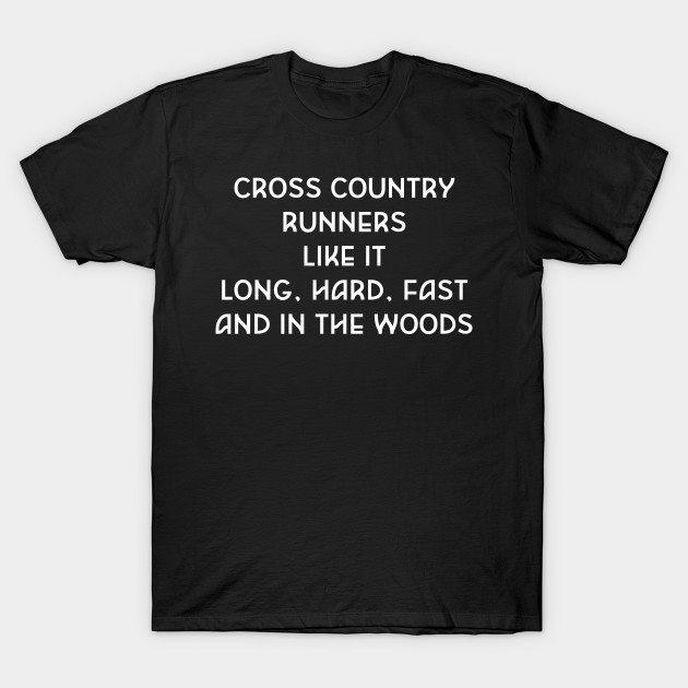 Cross Country Runners Like it Funny Crude T-shirt T-Shirt