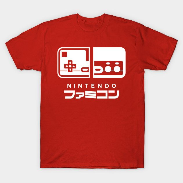 FAMICOM SWITCH Style (Japanese Ver.) T-Shirt