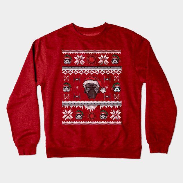 First Order Christmas Crewneck Sweatshirt