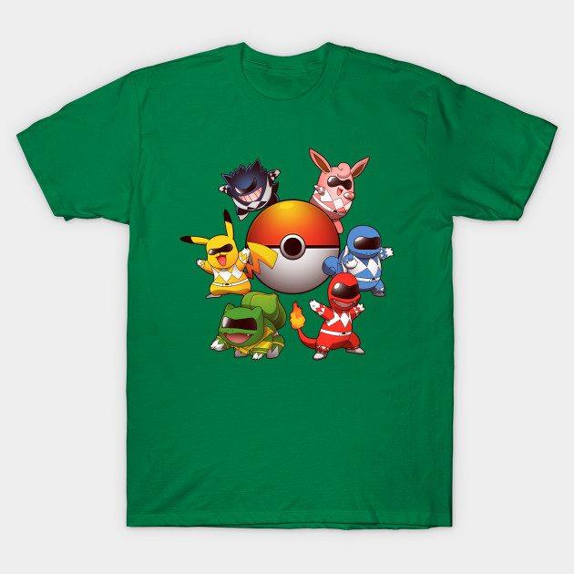 Go Go Poke Rangers 2.0 T-Shirt