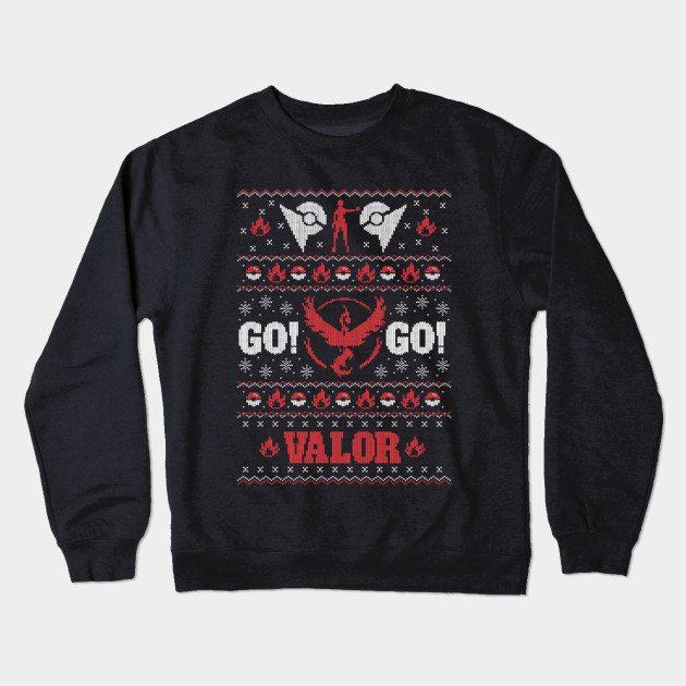 GO Valor Crewneck Sweatshirt