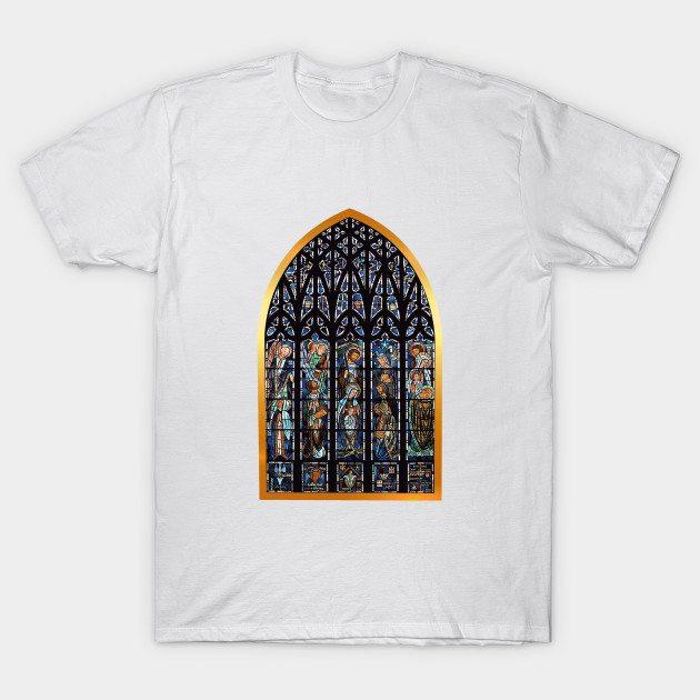 Merry Christmas Stainglass T-Shirt