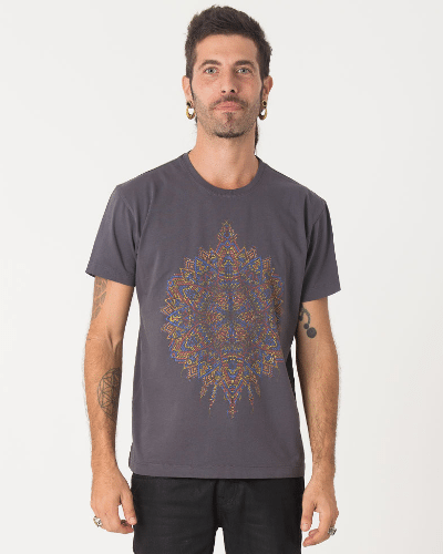 Mexica T-shirt ➟ Black / Grey