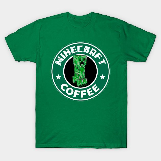 MINECRAFT COFFEE T-Shirt