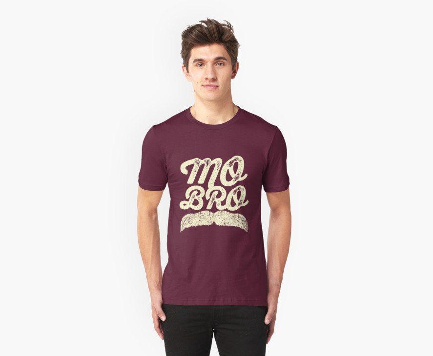MOVEMBER – Mo Bro White