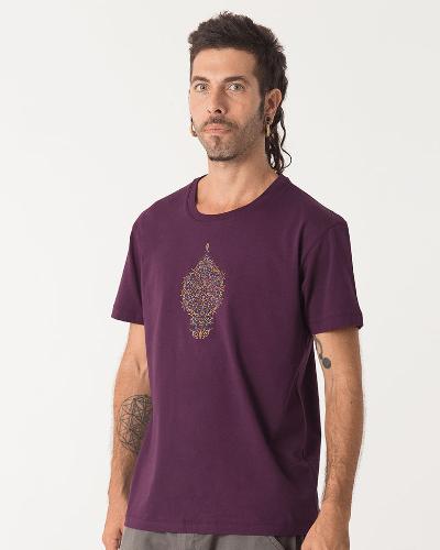 Peyote T-shirt ➟ Purple / Brown / Olive