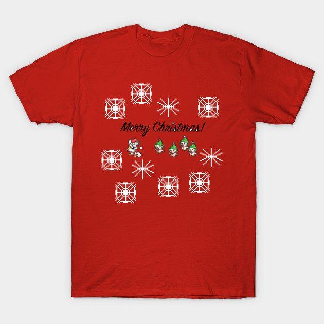 Pokemon Christmas Design 1 (2016) T-Shirt