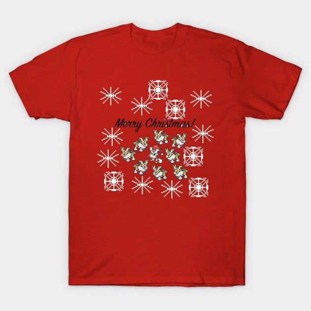 Pokemon Christmas Design 2 (2016) T-Shirt