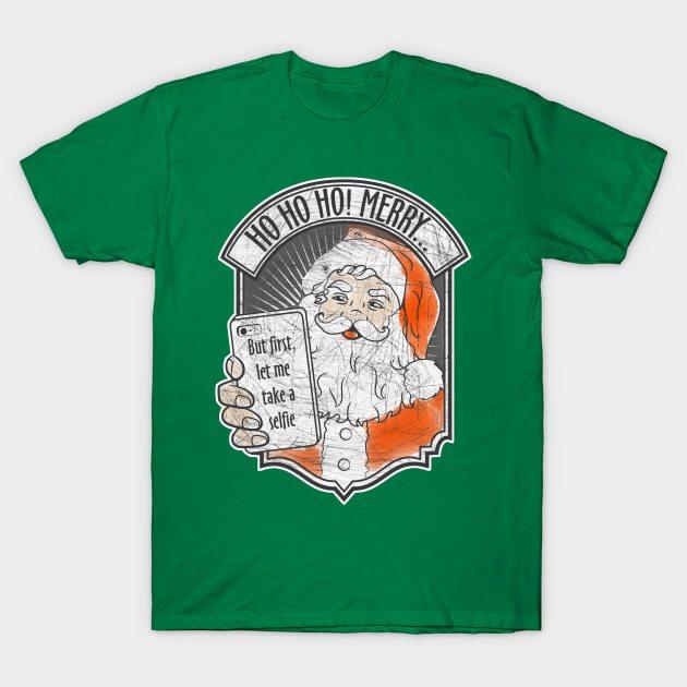 Santa Selfie T-Shirt