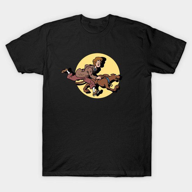 Scooby TinTin T-Shirt
