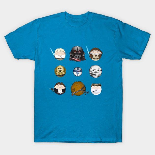 Star W-Orbs: A New Hoop T-Shirt