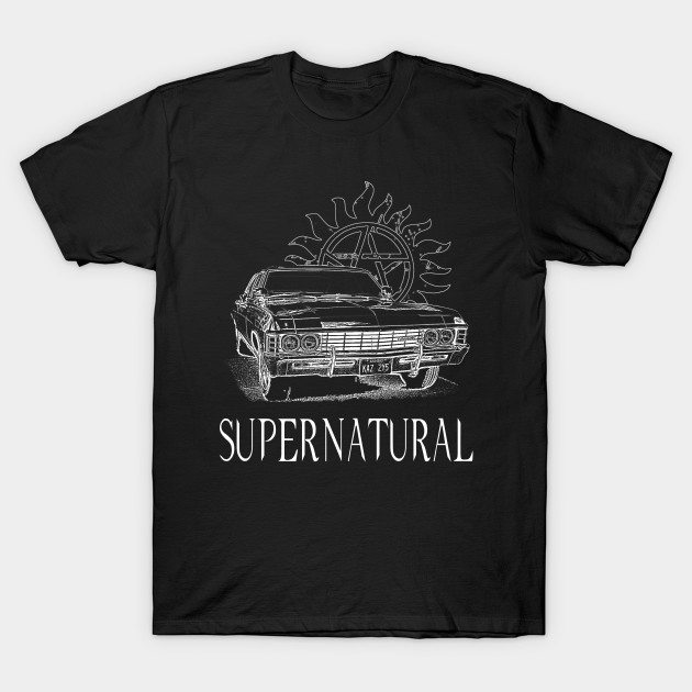 Supernatural Hunting In Style T-Shirt