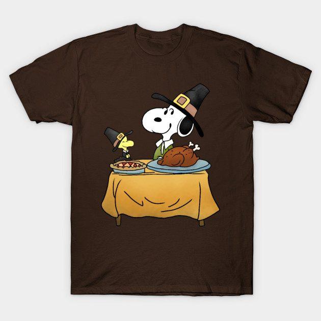 Thanksgiving Snoopy T-Shirt