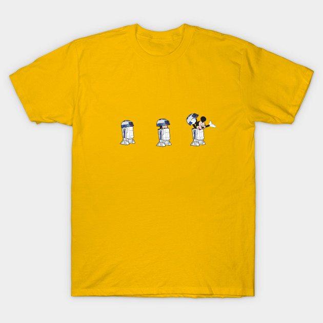 The Mouse Awakens T-Shirt