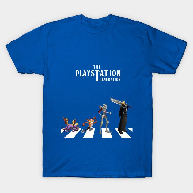 THE PLAYSTATION GENERATION T-Shirt