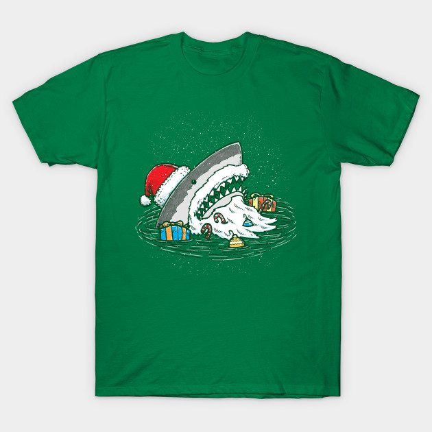 The Santa Shark T-Shirt
