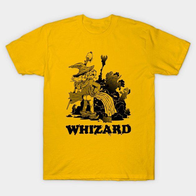 the Whizard (bw) T-Shirt
