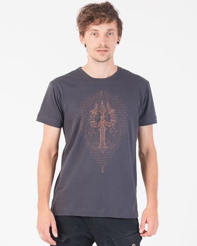 Trishula T-shirt ➟ Black / Grey