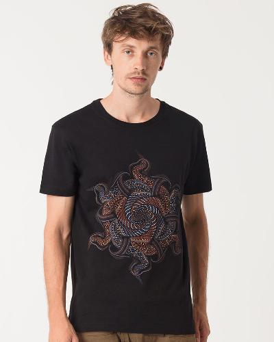 Vortex T-shirt ➟ Black / Grey