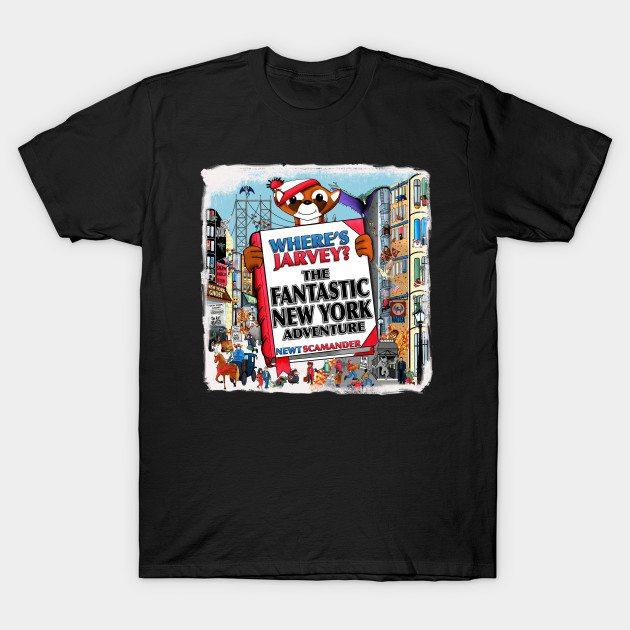 Where's Jarvey? T-Shirt