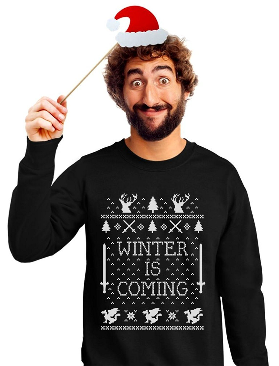Winter Is Coming Ugly Christmas Sweater