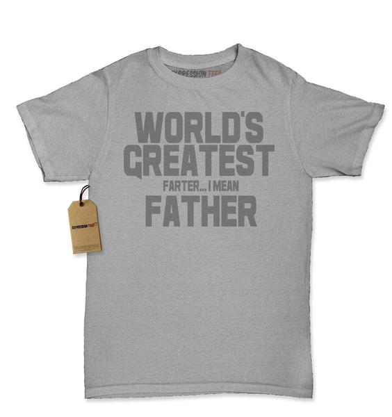 World's Greatest Farter…  I Mean Father Father's Day Womens T-shirt