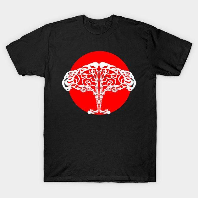 african sunset tree T-Shirt