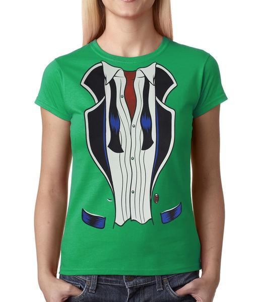 After Hours Tuxedo Womens T-shirt