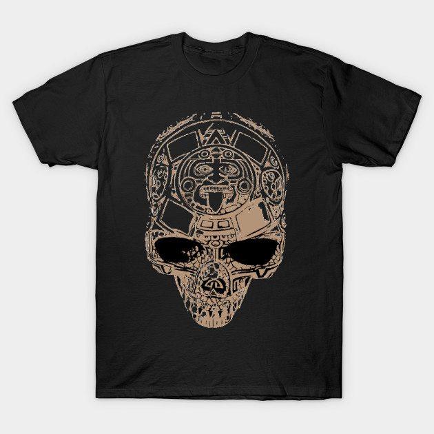 Aztec skull T-Shirt