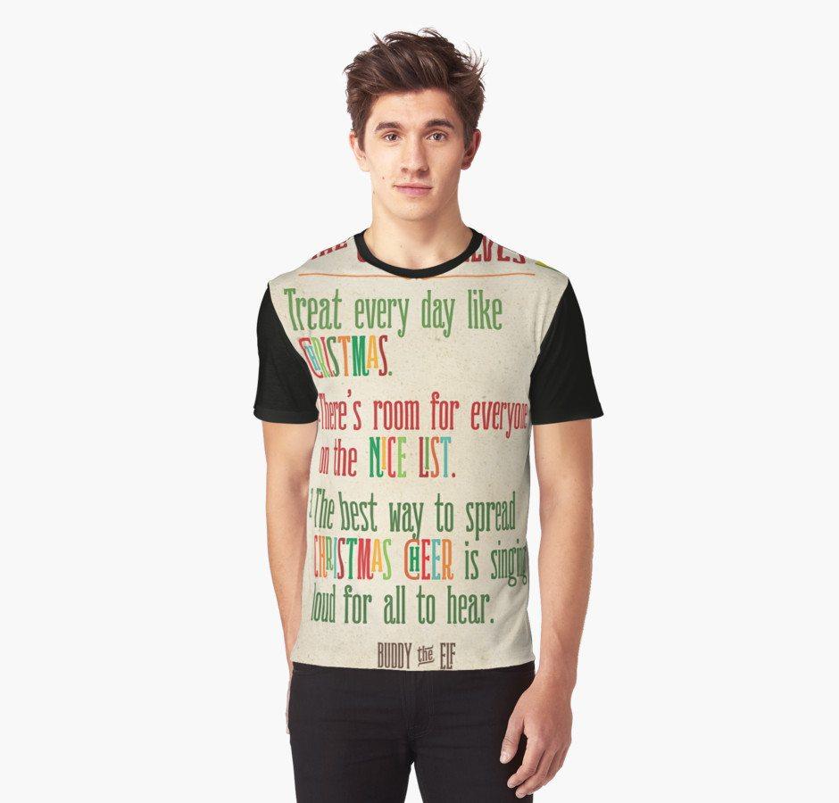 Code of Elves -- Buddy the Elf Shirt