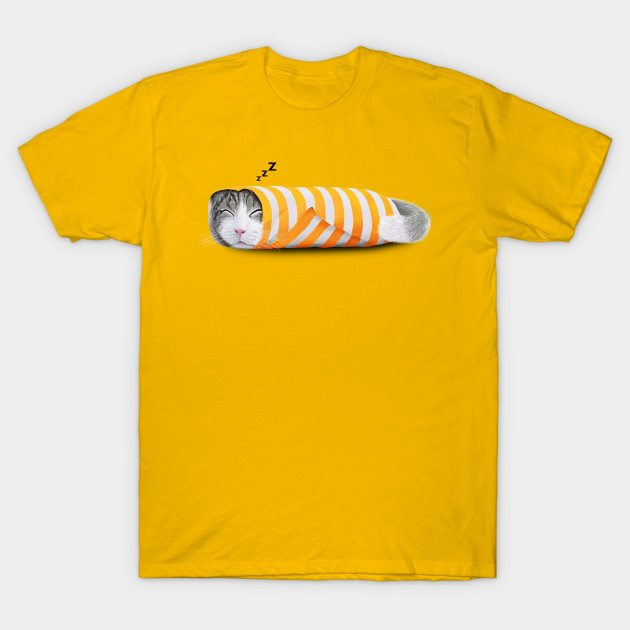 Cat in the paper T-Shirt