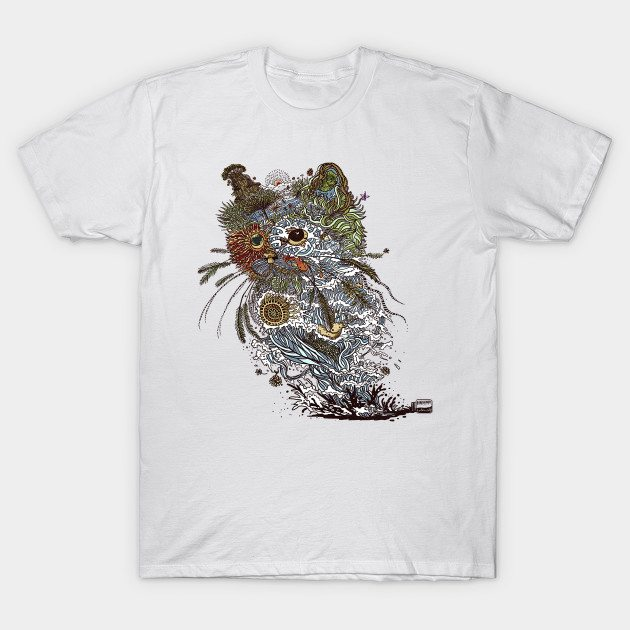 Colors to nature cat T-Shirt