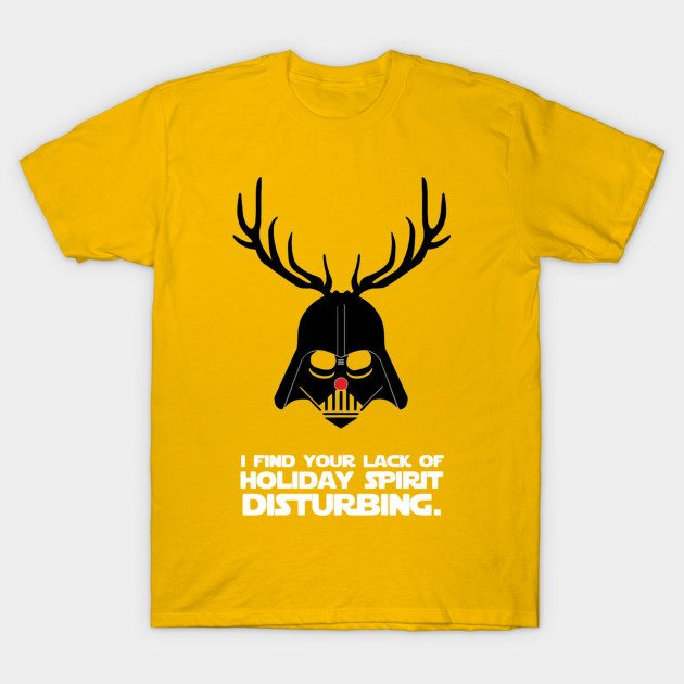 Darth Vader Christmas T-Shirt