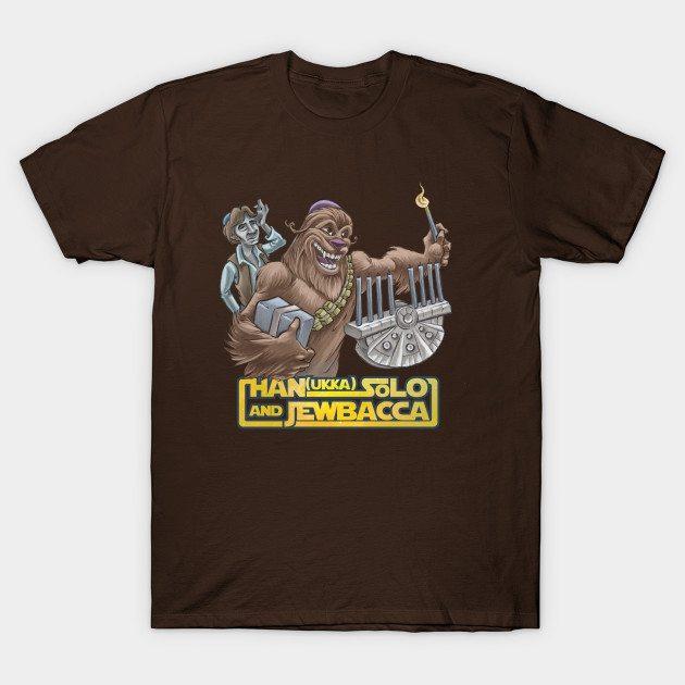 Han Ukka Solo And Jewbacca -- Hanukkah Shirt
