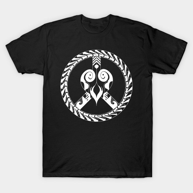 heart and peace symbol T-Shirt