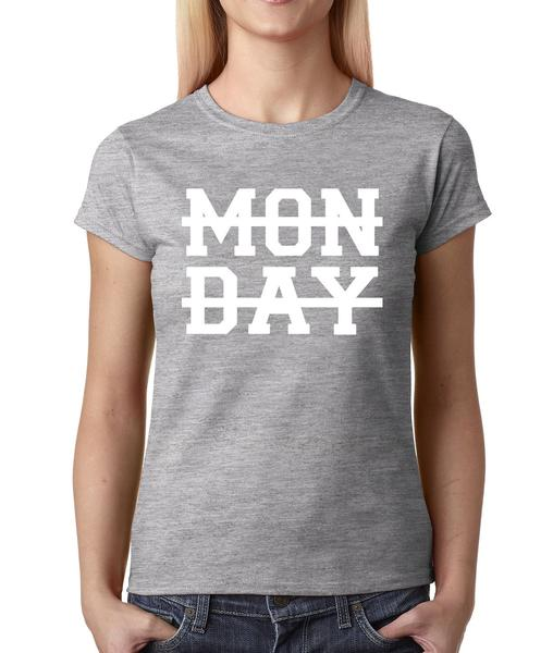 Horan Monday Crossed Out Womens T-shirt
