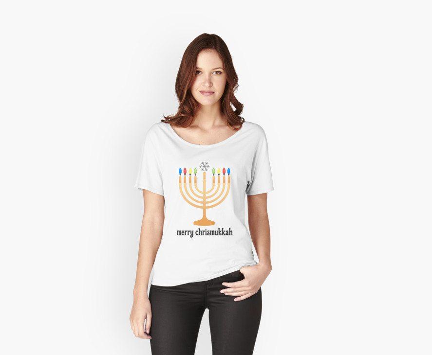 Merry Chrismukkah -- Hanukkah Shirt
