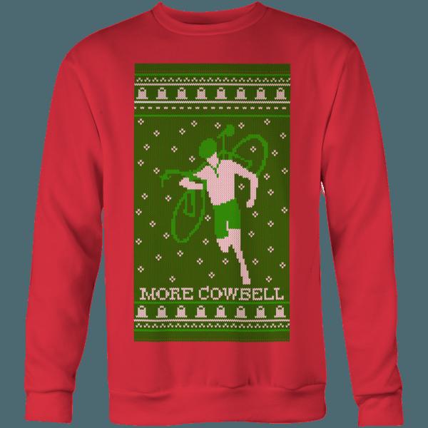 More Cowbell Sweater -- Biking Shirt