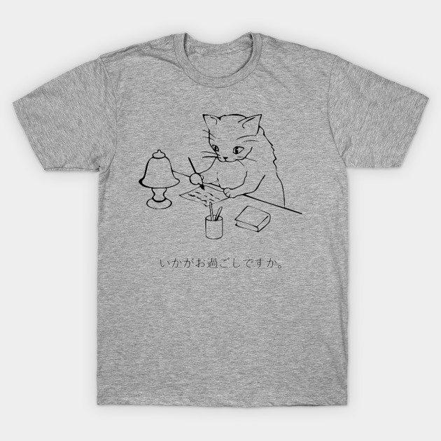 Neko letter T-Shirt