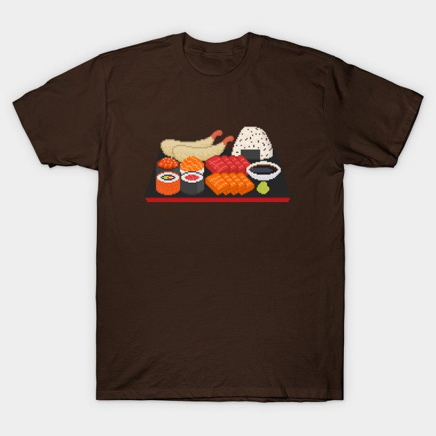 Pixely Japanese Meal T-Shirt